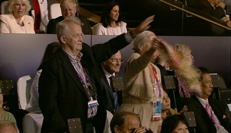 Walther Trögers hilsen til de tyske atleter.