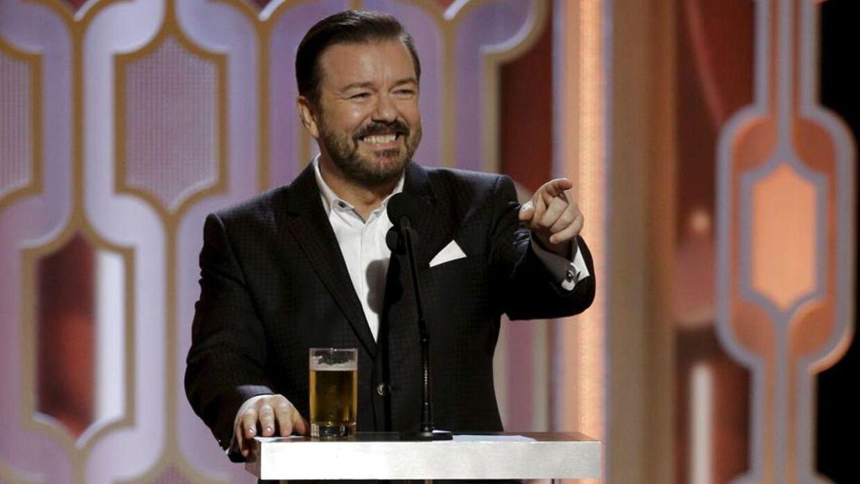 Det er fjerde gang, at Gervais er vært på showet.