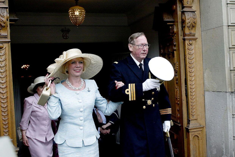 Grevinde Anne Dorthe og grev Christian af Rosenborg. De er begge døde med kun syv måneders mellemrum