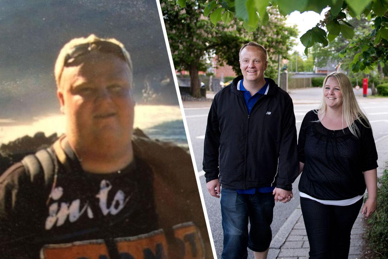 Det var kæresten Tanja, der i sin tid opfordrede Glenn til at melde sig til TV3-programmet Ekstremt Fed, hvor det lykkedes ham at tabe 64 kilo. 13 dage efter han har gennemført den halve ironman, skal de to giftes.