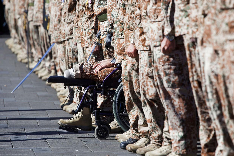 Mange psykisk sårede veteraner har ikke kræfter til at kæmpe for deres arbejdsskadeerstatninger.
