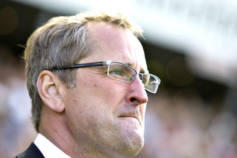 Erik Hamrén måtte se sit Rosenborg-hold blive slået ud af den norske pokalturnering.