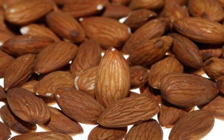 Mandler indeholder 529 kcal per 100 gram, men 32 procent af kalorierne optages ikke i kroppen.