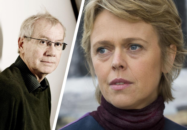 Lina Arlien-Søborg fortæller, at hun forgæves forsøgte at få Nils Malmros til at ænder scenen i filmen 'Sorg og glæde'. Hun er absolut ikke enig i fremstillingen.