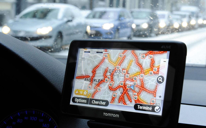 En 67-årig belgisk kvinde stolede så meget på sin GPS, at hun først indså, at hun var kørt helt forkert efter to dage, fem landegrænser og 3000 kilometer (Arkivfoto)
