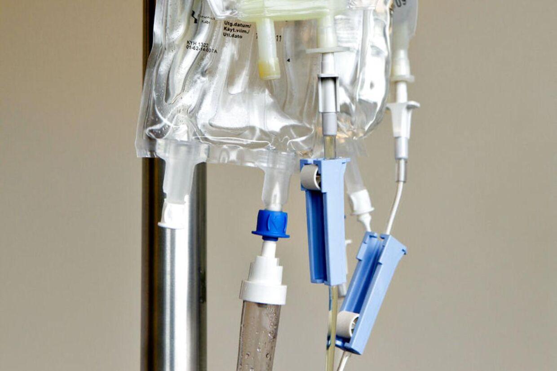 Mangelfuld produktinformation kan være årsagen til, at tre kræftsyge personer er døde efter at være blevet behandlet med for store mængder kemoterapi på Aarhus Universitetshospital.Arkivfoto.