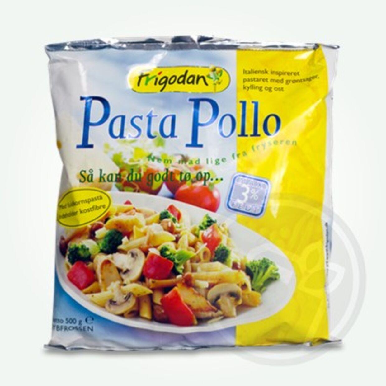 Det er i færdigretten Pasta Pollo, at der er fundet et musehoved