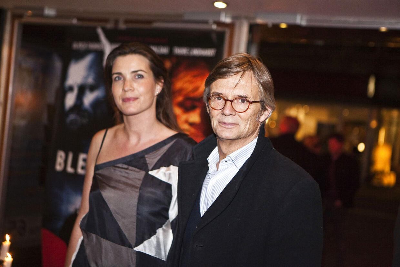 Bille August sammen med hustruen Sara-Marie Maltha.