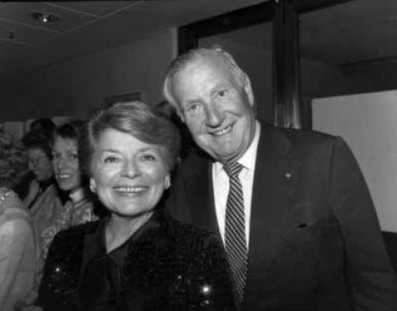 Lys Assia blev gift med den danske restauratør og hotelkonge Oscar Pedersen, der døde i et biluheld i Paris i 1995. Foto: Nordfoto/Scanpix
