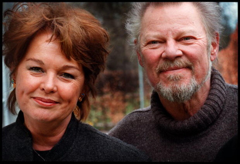 Ghita Nørby har mange gange dannet par med Frits Helmuth på scenen. Arkivfoto: Ditte Bjerregaard