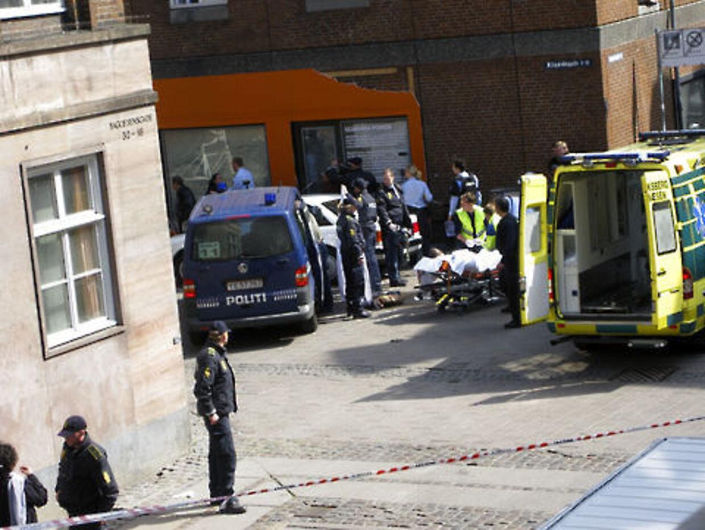 Der var totalt kaos, efter at en 28-årig familiefar blev skudt på Nørrebro.