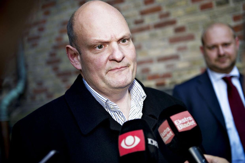 Tidligere toppolitiker Henriette Kjærs bedrageridømte samlever Erik Skov Pedersen er forflyttet fra et åbent fængsel til topsikrede Vridsløselille Statsfængsel.(Foto: Marie Hald/Scanpix 2013)