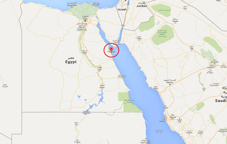 Badebyen Hurghada tiltrækker tusindvis af turister årligt, blandt andet fra Danmark.