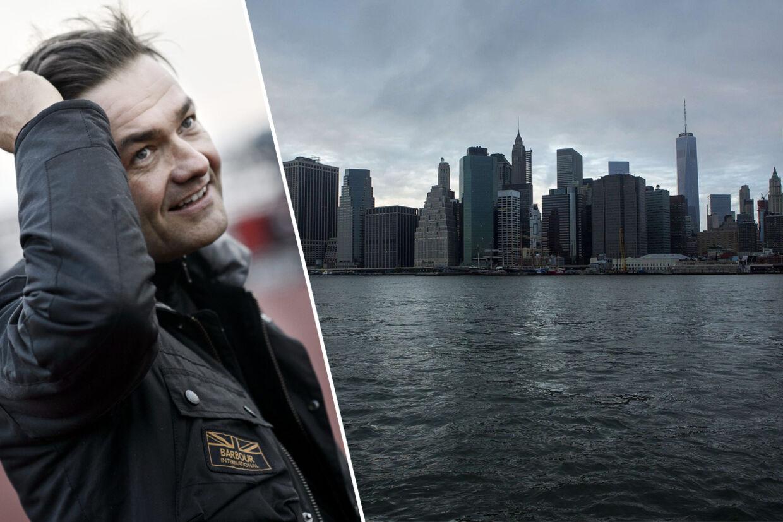 Forfatteren Christian Mørk har netop udgivet romanen 'Den store mester', der handler om tiden under og efter første verdenskrig. New York fylder en del i den nye roman.