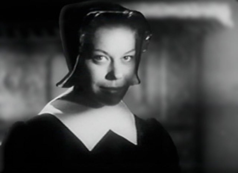 Lisbeth Movin i Carl Th. Dreyers mesterværk 'Vredens dag'.