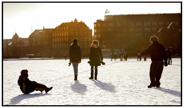 Det er med at nyde de næste par dage. Fra weekenden kommer der sne igen. (Arkivfoto)