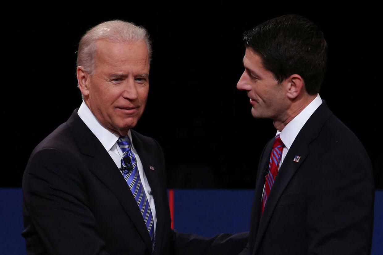 Joe Biden vandt nattens debat over sin yngre republikanske modstander Pau Ryan