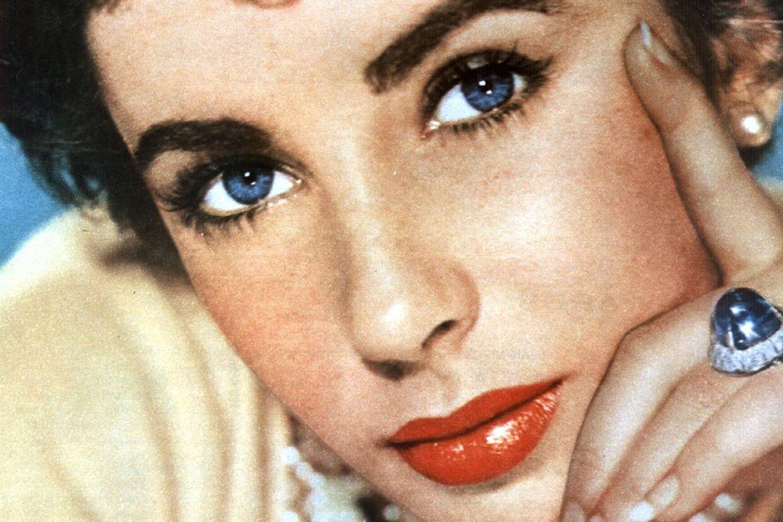 Elizabeth Taylor som ung.