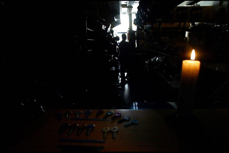 Der er strømsvigt flere steder på Fyn. Arkivfoto.