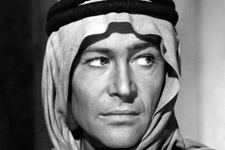 Peter O'Toole i Lawrence of Arabia.