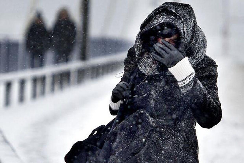 Kold morgen.