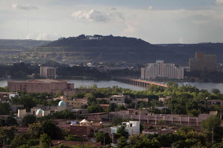 Hovedstanden i Mali, Bamako.
