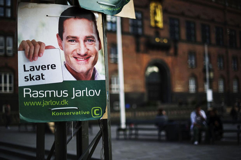 Rasmus Jarlov må se de konservatives ene københavnske mandat gå til Per Stig Møller.