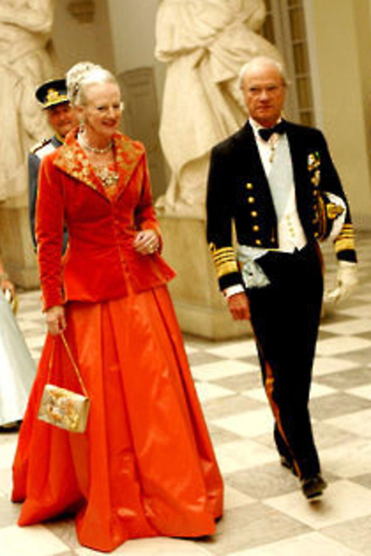 sveriges konge og dronning