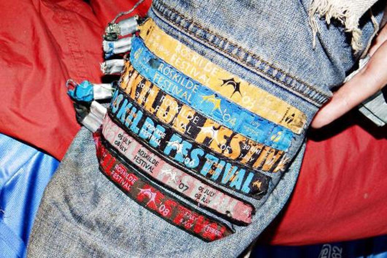 roskilde festival armbånd