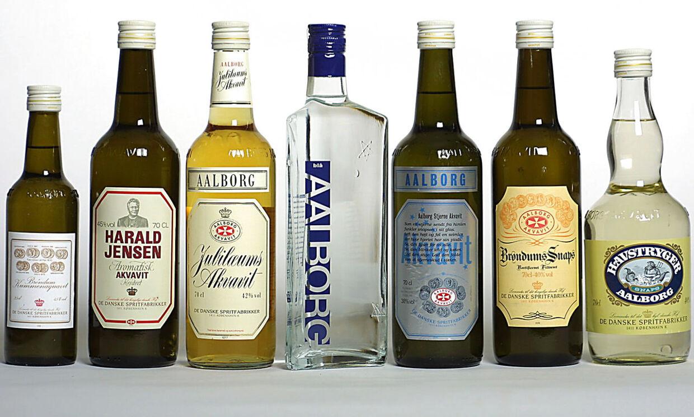 Julefrokoster og akvavit hører sammen. Og der er et stort udvalg af god brændevin at vælge imellem.