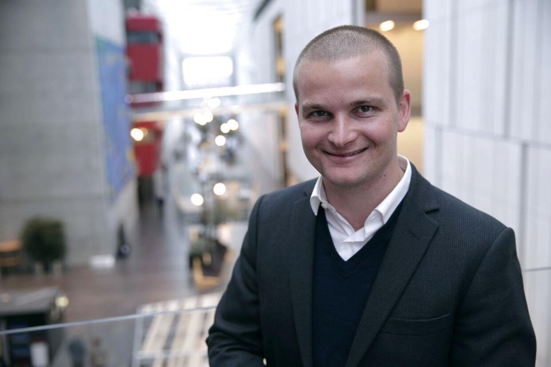 Thor Möger Pedersen bliver fremover debatvært på DR2, hvor han skal stå i spidsen for programmerne med titlen Gadens Parlament. Foto: Bjarne Bergius Hermansen