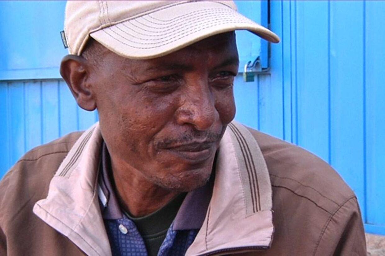 Gimma Kebele er 'børnehøster' i Ethiopien. Foto: Danmarks Radio/21-Søndag