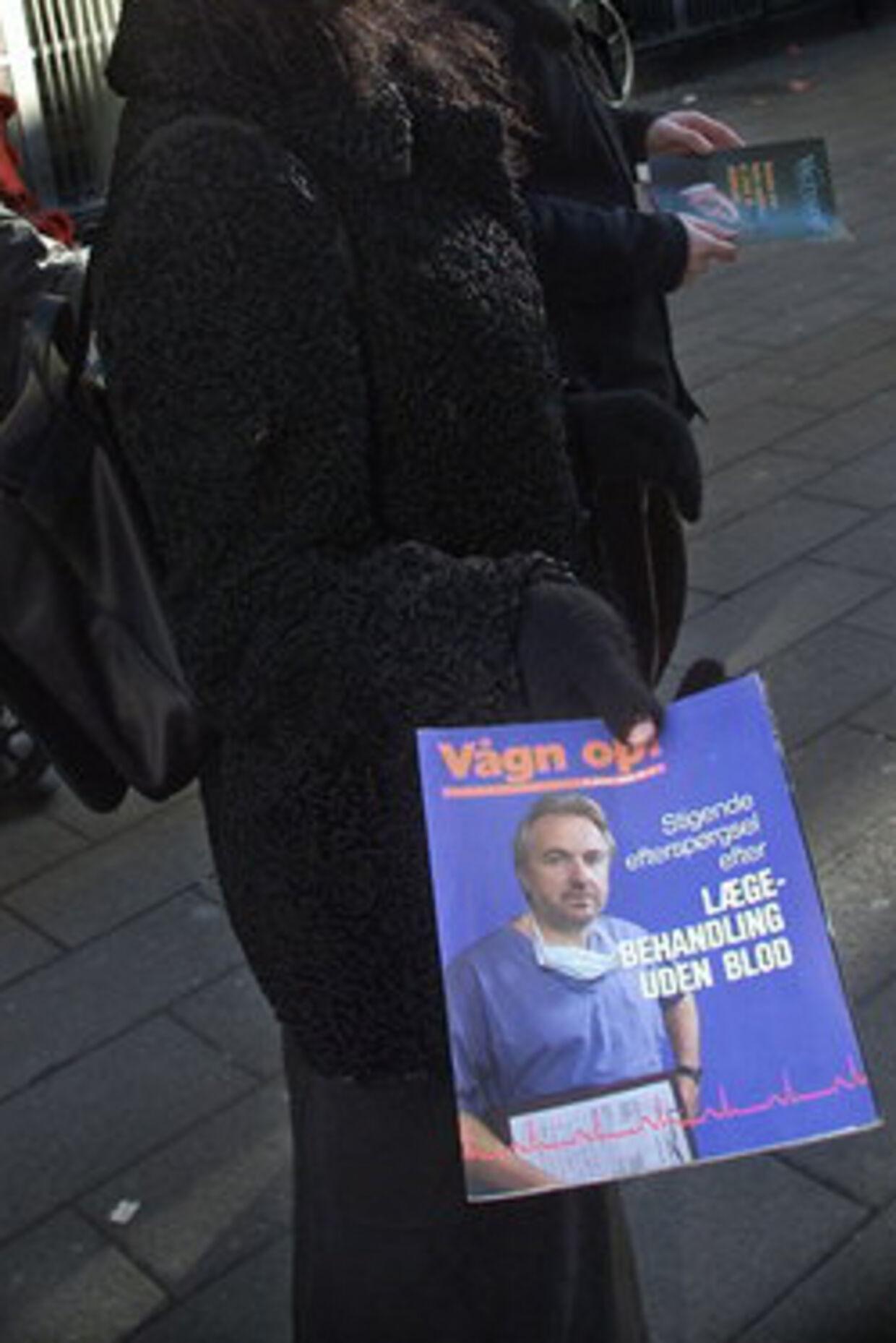 Vidner i Danmark har problemer med pædofile. Arkivfoto: Keld Navntoft