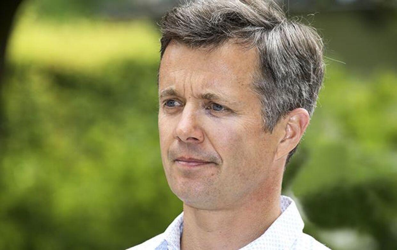 Frederik er langdistance-protektor for VM. Det holdes i Danmark, mens Frederik befinder sig i sommervarme Australien. Foto: Niels Henrik Dam