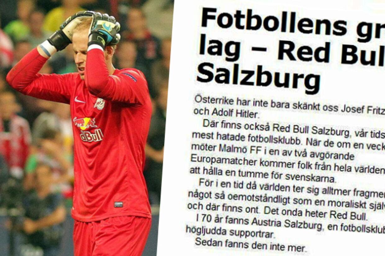 Svensk avis i stormvejr efter grov sammenligning af Hitler og fodboldklub