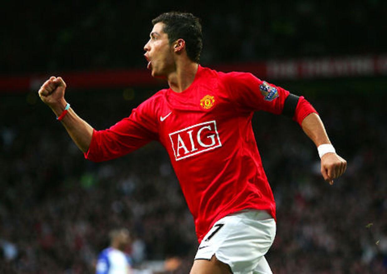 Cristiano Ronaldo var en væsentlig faktor i Manchester Uniteds engelske mesterskab.