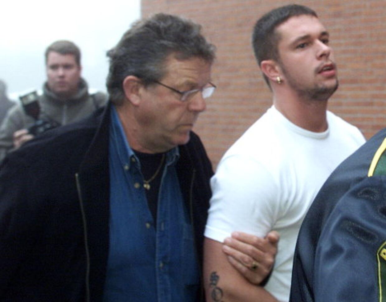 En Bandidos-rocker var meddeler for politiet, og han udpegede Robin Nielsen og Jacob Winefeld (herover) som bankrøverne, der skød Michael Pichard. Foto: Mogens Flindt