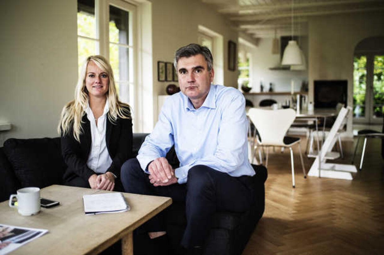 Pernille Vermund og Peter Seier Christensen står bag Nye Borgerlige, som skal fiske stemmer fra Dansk Folkeparti og Liberal Alliance