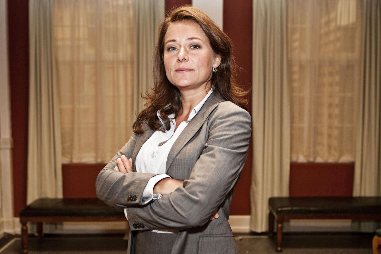 Den danske tv-serie 'Borgen' er den bedste tv-serie i 2012, mener succesforfatteren Stephen King. Her ses Sidse Babett Knudsen som statsminister Birgitte Nyborg i tv-serien Borgen (arkivfoto).