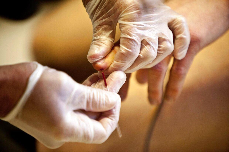 Arkivfoto: Amerikansk selskab forvente at kunne blodteste for kræft om få år Foto: Kristoffer Juel Poulsen.