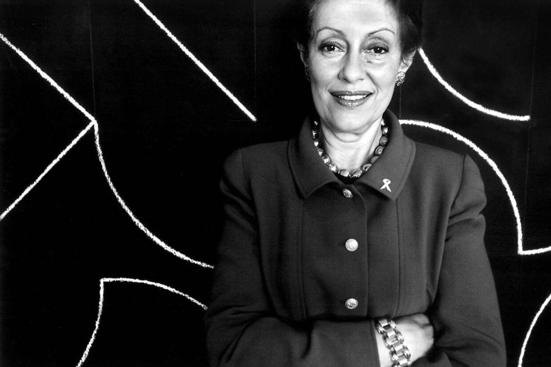 Evelyn Lauder, medejer af Estee Lauder, er død.