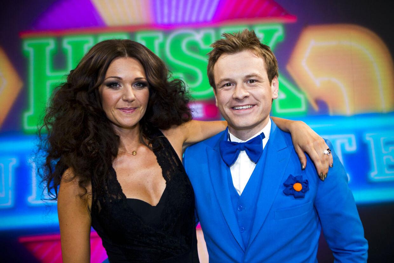 Christian Fuhlendorff og medvært Christina Bjørn fik kun én sæson som tandbørsteværter.