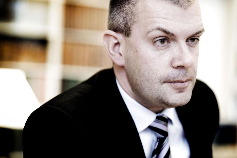 ARKIVFOTO 2012 af Finansminister Bjarne Corydon