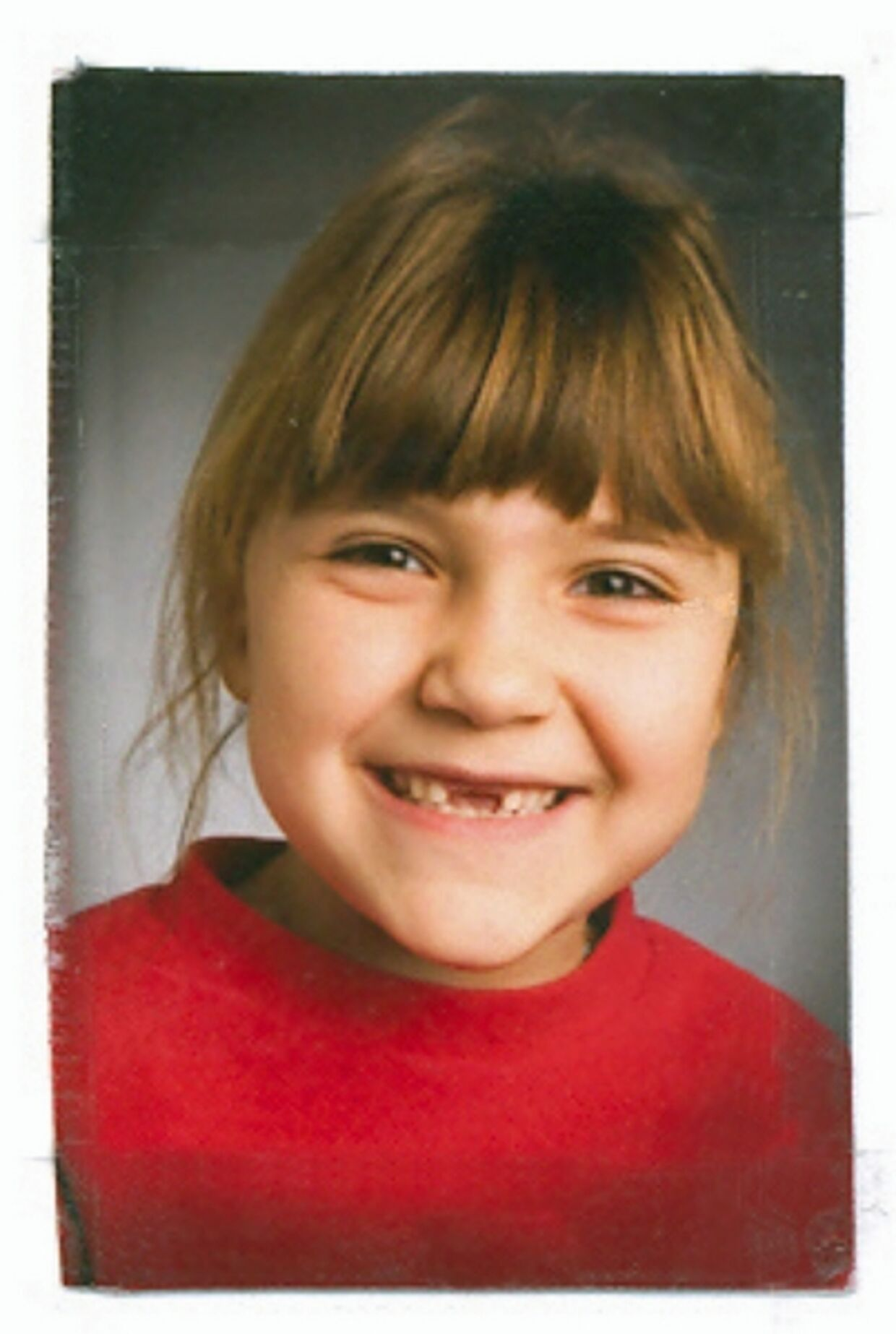 Den 7-årige Katerina Stine Brisson.