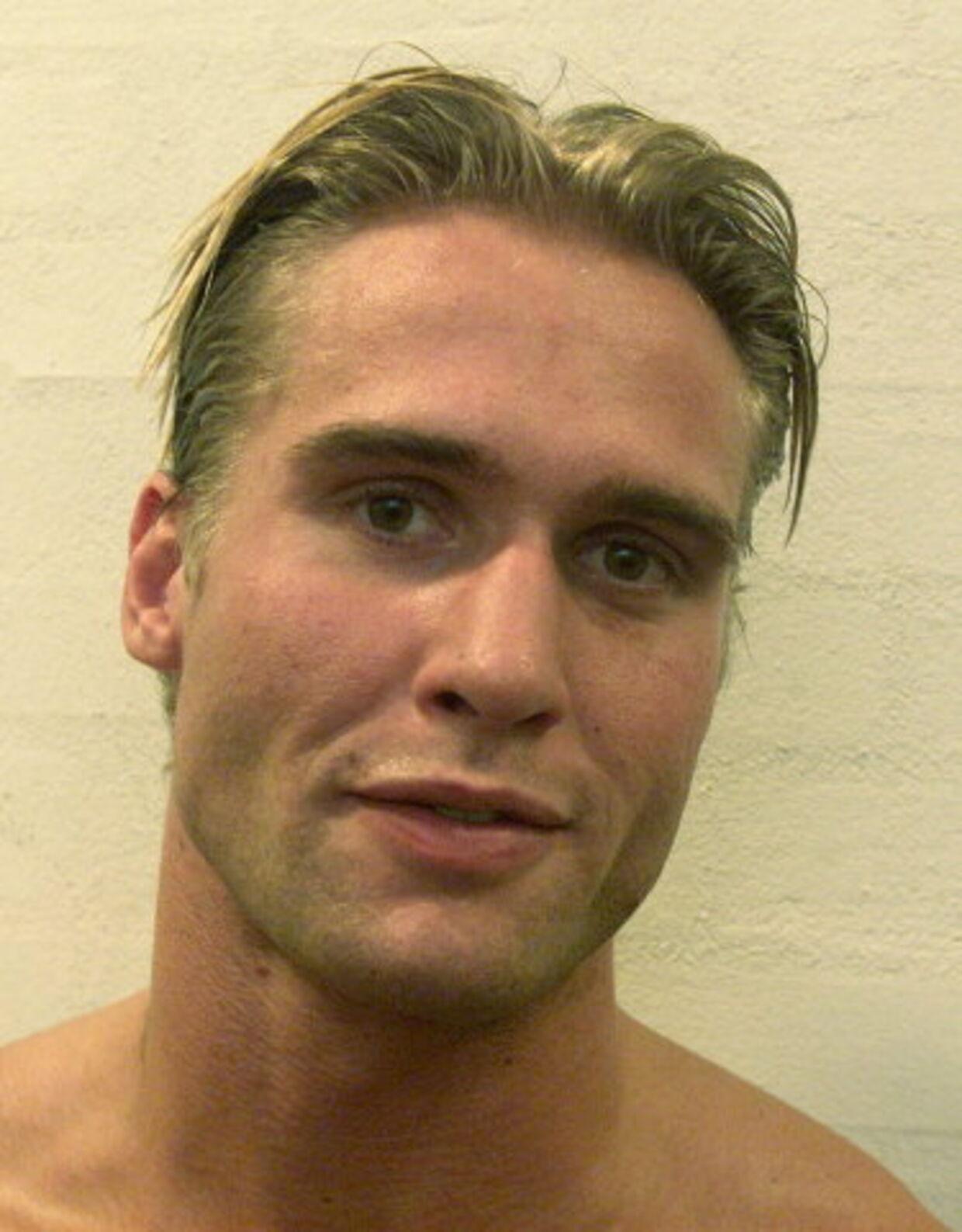 KNOCKOUT: Simon Welms, den tidligere Stald Palle-bokser, fik fordoblet sin straf til et års fængsel. Foto: Bent K. Rasmussen