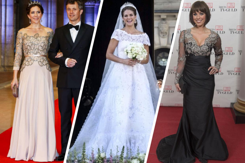 lisbeth østergaard brudekjole