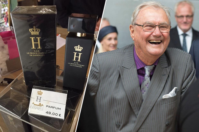 Prins Henriks parfume 'H' blev udviklet i samarbejde mellem Prinsgemalen og det danske kosmetikfirma Gosh i 2011. Duften, som prins Henrik efter sigende selv bruger, kan kun købes på Regentparrets vinslot Château de Cayx i nær Cahors.
