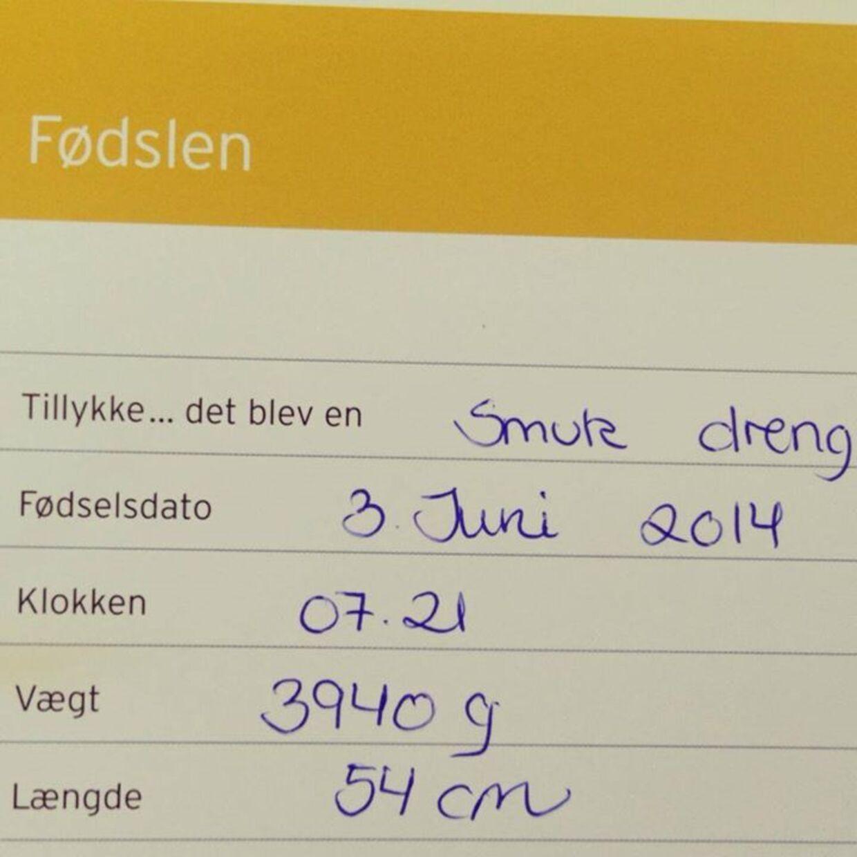 Her er Facebook-billedet, som den danske musiker har postet på Facebook.