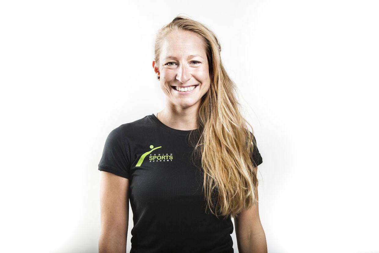 Her ses træneren Tanja Hultengren Larsson.