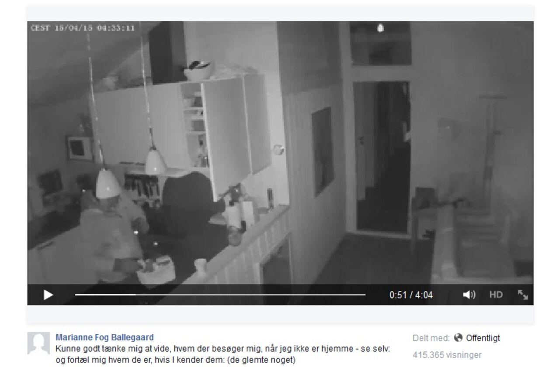 Marianne Fog Ballegaards sommerhus var i april udsat for indbrud, og efterfølgende delte hun overvågningsvideoen af de to fynske indbrudstyve på Facebook. Nu har Fyns Politi fanget de to tyveknægte. Selvom Marianne brød persondataloven, så fortryder hun ikke, at hun delte overvågningsvideoen.